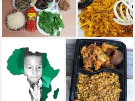 See pictures and names of various Igbo Delicacies