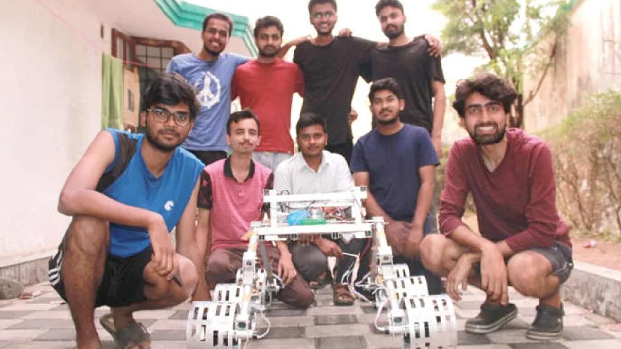 CUSAT team wins big at University Rover Challenge