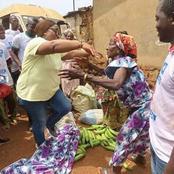 Législatives/Biankouma : cette image de la fille du Gl Gueï Robert et une mémé vaut mille mots