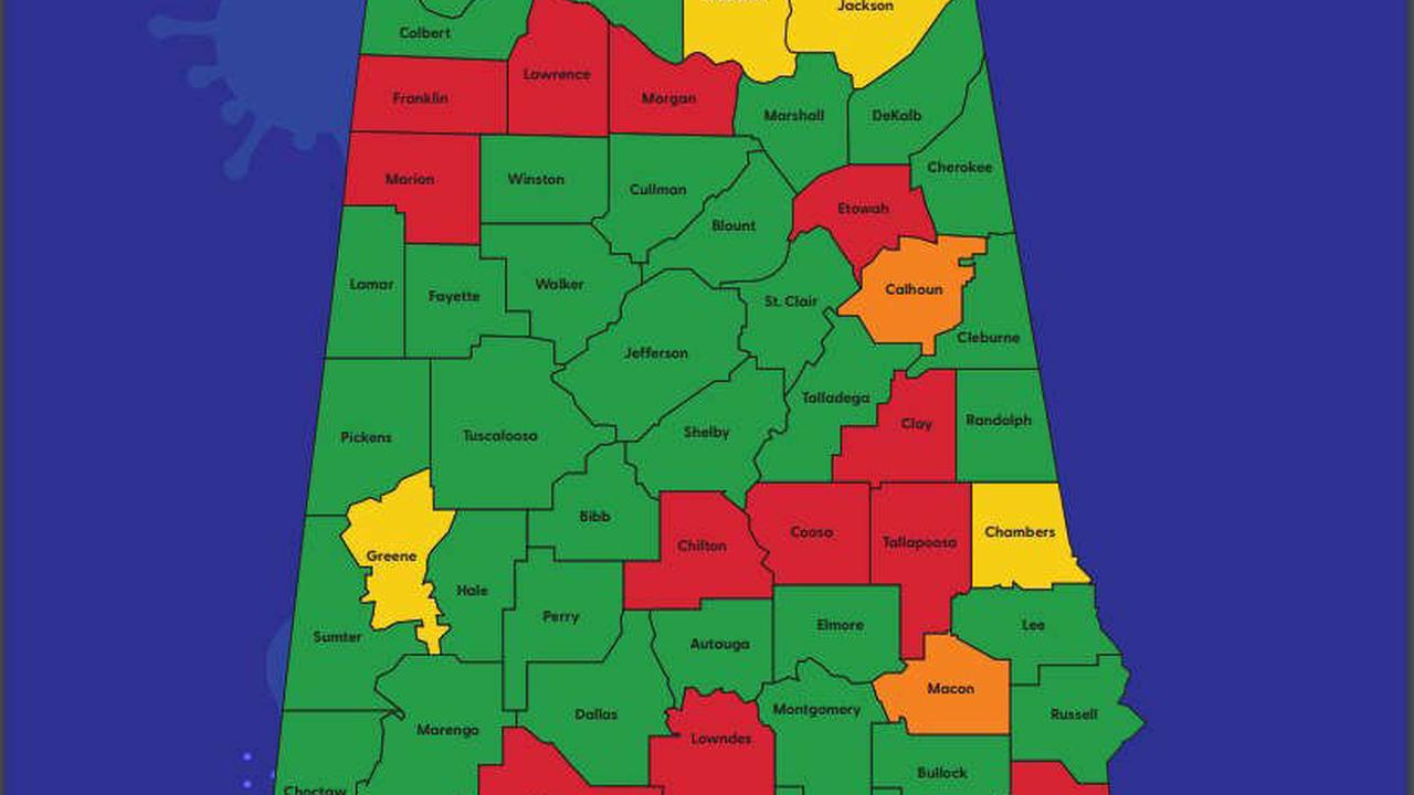 Threat risk in Greene County for COVID-19 drops