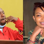 Mixed Reactions From Kenyans After Karen Nyamu's Message To Mike Sonko
