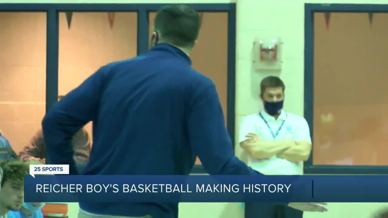 2021 Bishop Louis Reicher's Boy's Basketball team makes history with bi-district championship