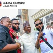 Gov. Bello Hosts Meeting With E-Money, Kcee & Chief Priest In Abuja, See The Purpose Of The Meeting