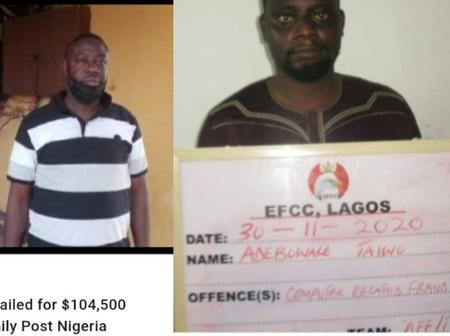 A Final Year LAUTECH Student Was Jailed For $104,500 Romance Scam