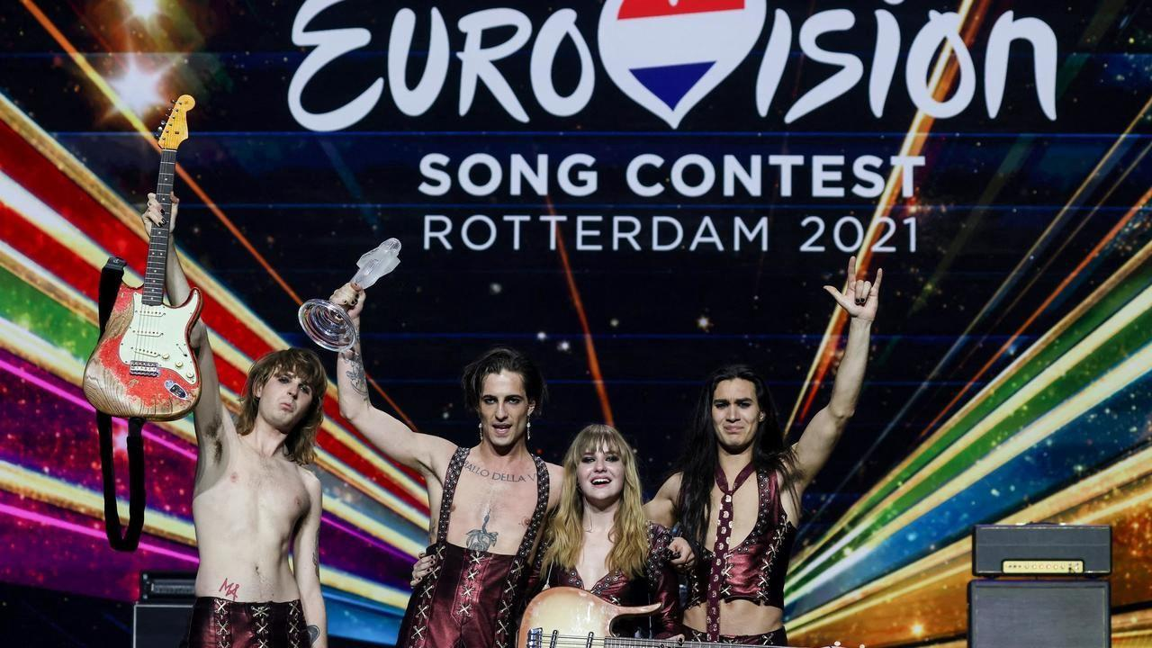 Italy wins Eurovision Song Contest for first time in 31 years, France close second