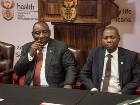 Alcohol Lovers Left In Total Disbelief, After Malema & Dr Mkhize Tells Ramaphosa To Do This.