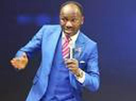 Apostle Suleman blessed the new month