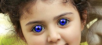 See 20 Photos Of Little Kids That Were Born With Strange Eyes