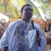 Prophet Onyeze Jesus Pulls Another Stunt, Performs Rituals With Mirror, White Goats And More - Video