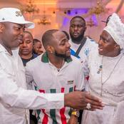 Ooni of Ife, Davido, Esther Ajayi, others turn up for the 45th birthday of Oba Elegushi (photos)