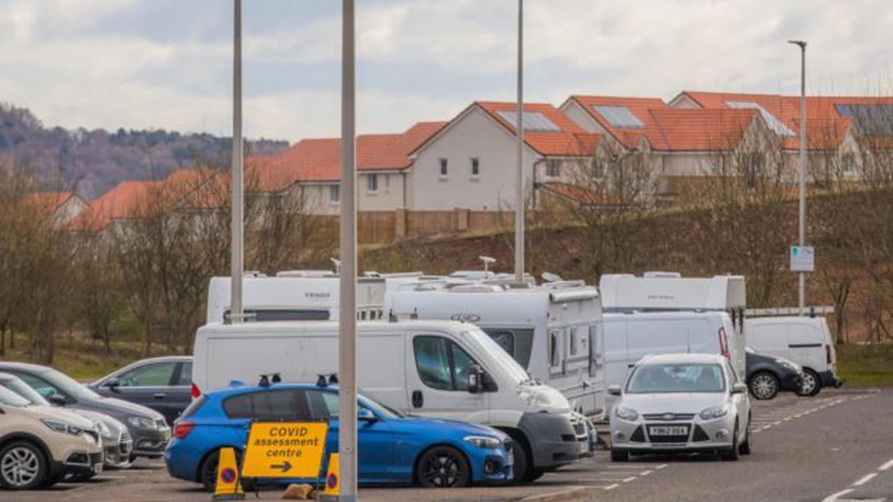 Travellers staying at Broxden Park and Ride to leave site