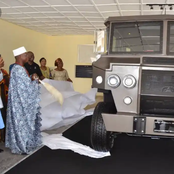 Ekiti State : See the kind of armored Vehicle manufactured by two brothers for Oba Joseph Adewole