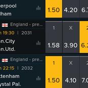 Sunday English Premier League Predictions On Man U, Man City