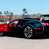 The owner of the exlusive R30 million black Bugatti sported in South Africa revealed!