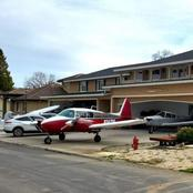 Only in California, Where You Park Your Planes in the Garage Just Like Other People Park Cars