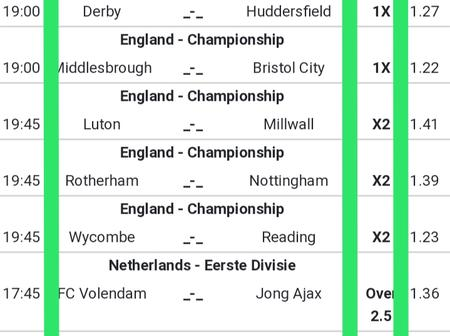 Football Predictions for Today to Win Very Big Money