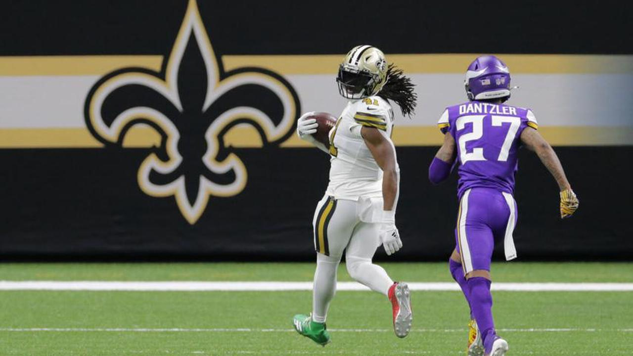 The Saints rushing attack is peaking exactly when it's supposed to. 'We were all clicking' (3 Viewers)