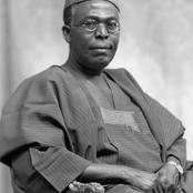 Post Humous Birthday: Obafemi Awolowo Clocks 112 years, Checkout Photos Of Him And His Biography