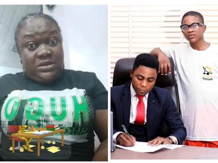 How Dare You Use My Little Son To Defraud People- Don Davis Mother Blasts CEO Of Investment Company
