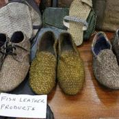 Scales shoes: See these trending shoes made from fish scales and how they pay vendors millions