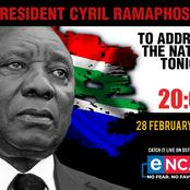 BREAKING NEWS: President Ramaphosa Addresses The Nation Tonight. Lockdown Level 1 Is Here ?