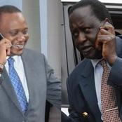 How Uhuru's Night Call Calmed Raila Before Kibra Rally