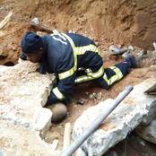 Cocody Bonoumin : une maison en construction s'effondre, bilan 2 victimes dont 1 mort