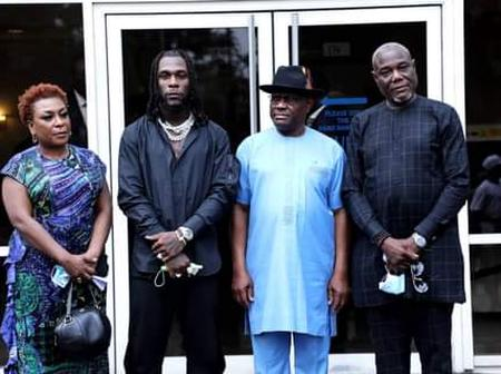 Burna Boy, The Pride of Rivers State - Wike