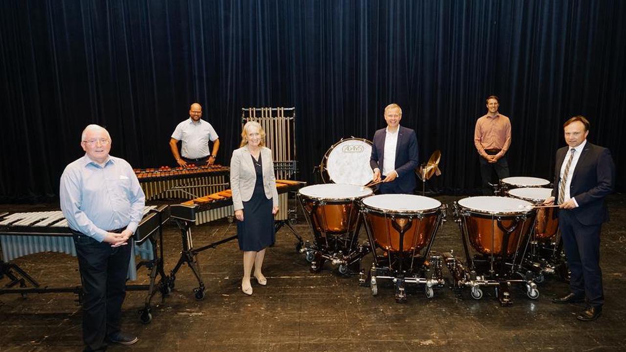 Neue Instrumente für das Kreisorchester