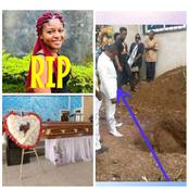 """Wedding Day Turned Into Burial Day"" -Tears Flow As Lady Who Died 5 Days To Her Wedding Buried"