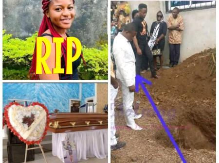 """""""Wedding Day Turned Into Burial Day"""" -Tears Flow As Lady Who Died 5 Days To Her Wedding Buried"""