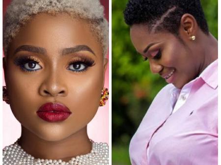 Haircut battle!! Who nailed it? Adina Thembi or Emelia Brobbey?