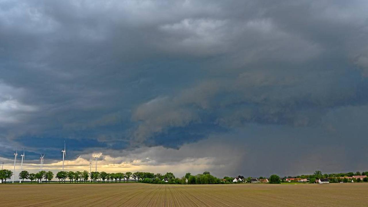 Wetter in Niedersachsen – es drohen Gewitter und Starkregen