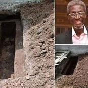 Photos from the late Sadiq Daba grave side as he was laid to rest today in Lagos