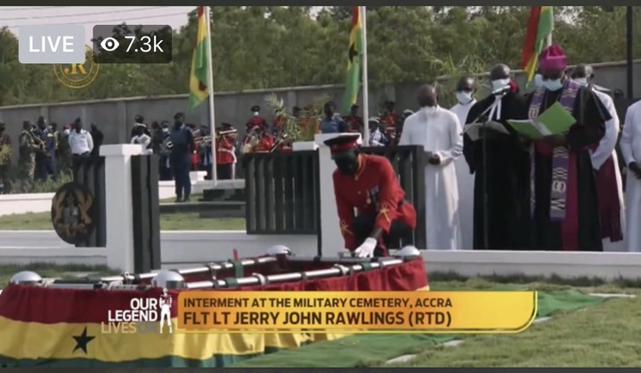 339176234186494ab7fa27a9ef4aedac?quality=uhq&resize=720 - Sad Moment: How JJ Rawlings Was Conveyed By The Military To The Newly Built Burna Camp Cemetary