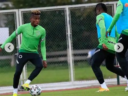 Star Player - What Samuel Chukwueze Was Seen Doing With Football