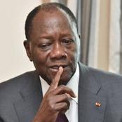 Ouattara frappé par un malheur à quelques jours de son investiture.