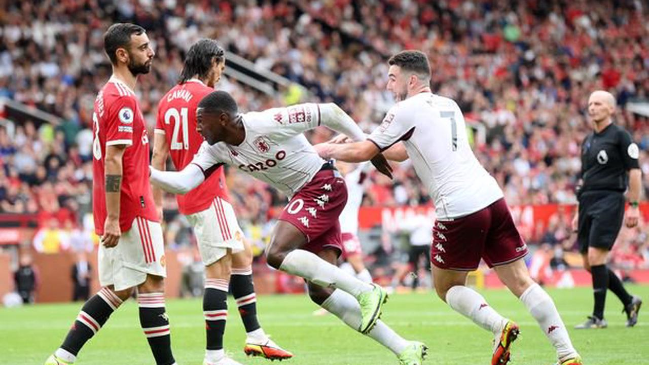 Aston Villa told they 'got away with one' against Manchester United