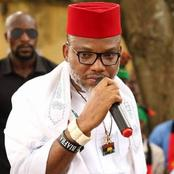 See How Nnamdi Kanu Reacted To The Blockage Of Farm Produce From The North To The Southern Part.