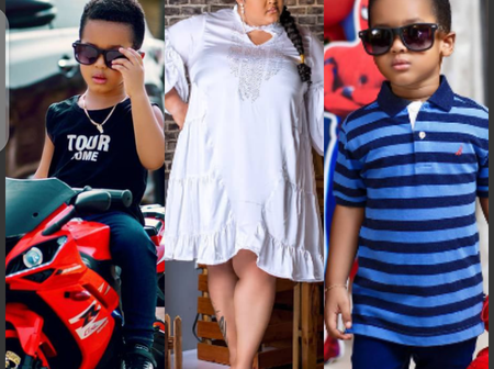 Vivian Jill's son is 4 years today, check out the heart warming message his mum wrote for him.