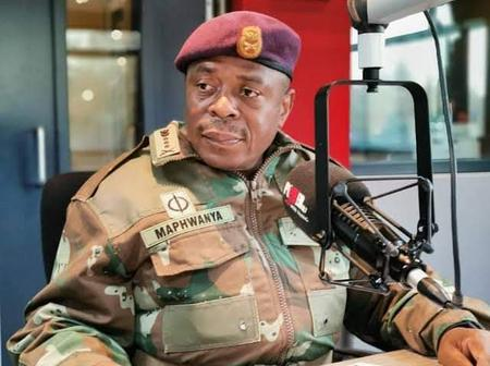 Gen Solly Zacharia Ditched By President Cyril Ramaphosa.