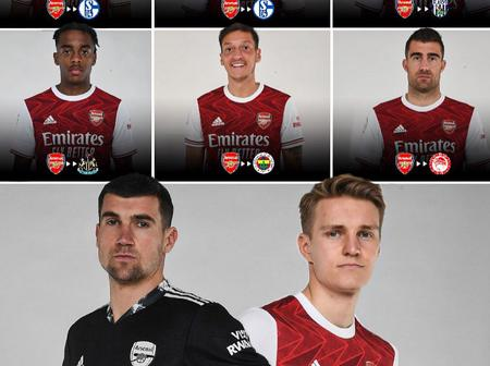 With the January transfer window closed, see how Arsenal fared in the transfer