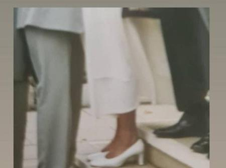 Don Jazzy's Ex-Wife, Michelle Explains Why She Was Taller Than Him In Their Wedding Picture