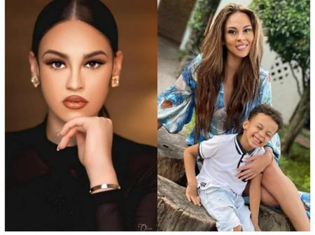 Ik Ogbonna's Columbian Ex Wife Shows off Their Handsome Son As They Enjoy Their Easter On Barefoot