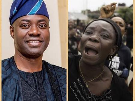 2 Months After Shasha Market Crisis, Widows Protest Negligence By Gov. Seyi Makinde