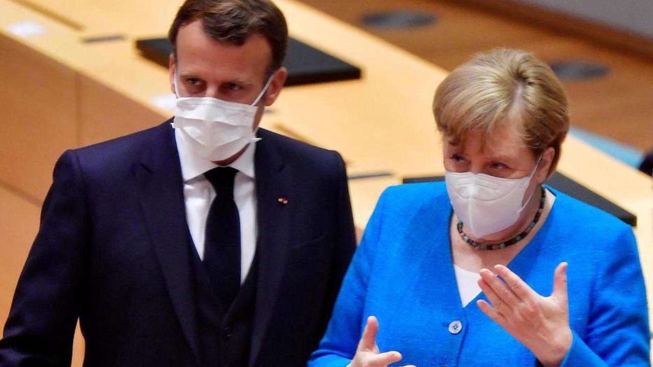 Exportations des vaccins : Macron et Merkel renvoient la balle à Biden