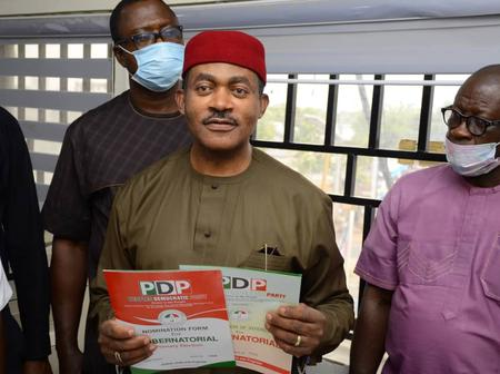 Anambra Gov Election: Maduka picks PDP form, promised to lead state out of democratic disadvantage