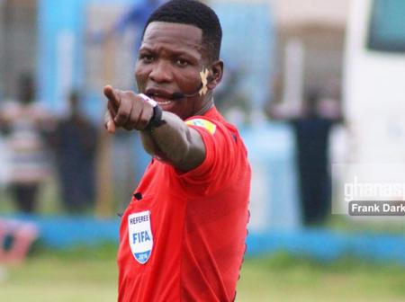 The Popular Phrase Synonymy With Ghana's Best Referee, Daniel Laryea