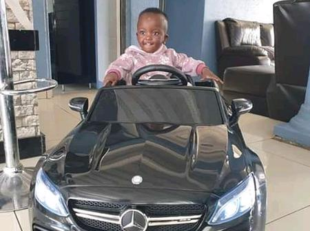 King Monada Shows Off His Sons' Mercedes Benz Miniature Cars!