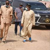Bauchi State Governor was sighted in another recent photos wearing sneakers with kaftan